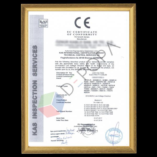 Tedarikçilerimizin CE Belgeleri-3 (İngilizce)